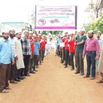 Dengue Malaria awareness rally